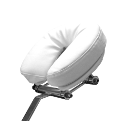 Silhouet-tone crescent memory foam headrest with base