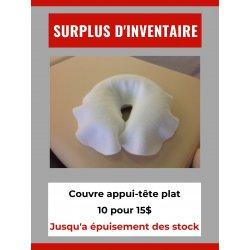Surplus d'inventaire - Couvre têtière plat