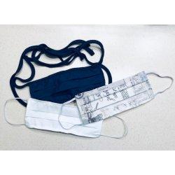 Masque de protection en tissu lavable - 2 épaisseurs