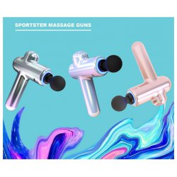 Percussion massage device by Sportster