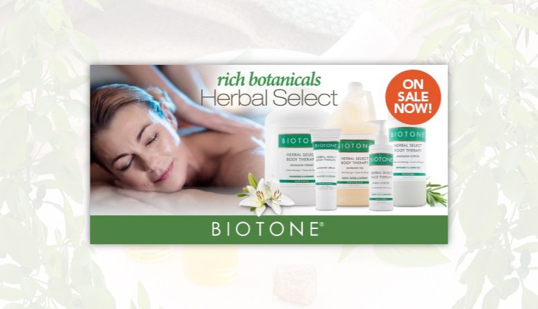 Promotion on Herbal Select by Biotone!