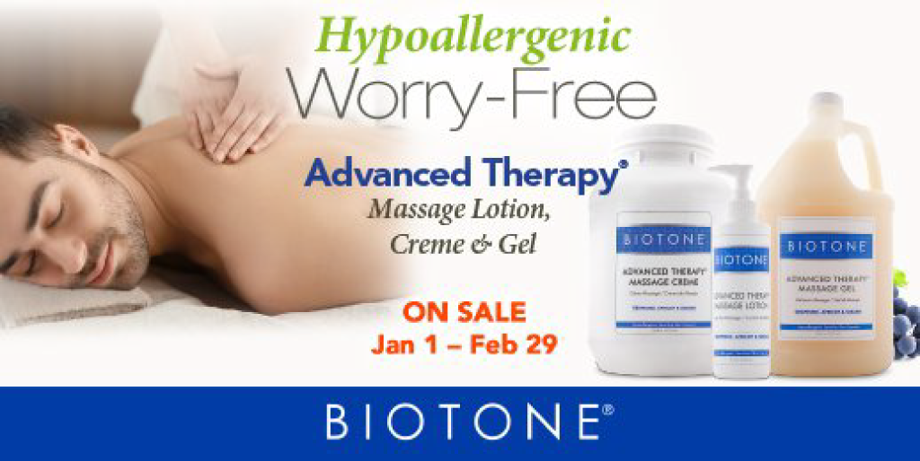 Big sale on all the Biotone Advanced Therapy line! Until the 28th february 2021 :)